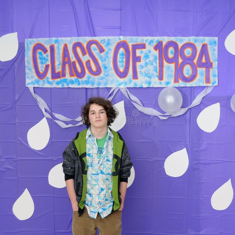 Klasse van de Graduatie van 1984 royalty-vrije stock foto