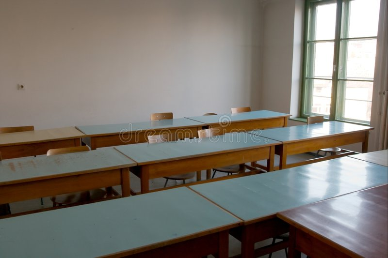 Klassenzimmer lizenzfreie stockfotos