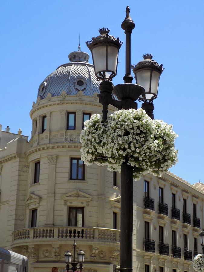 Klassiek architectuur-Granada-Andalusia-Spanje - EUROPA royalty-vrije stock foto