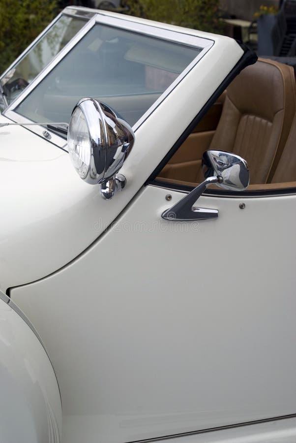 Klassiek autodetail royalty-vrije stock afbeeldingen