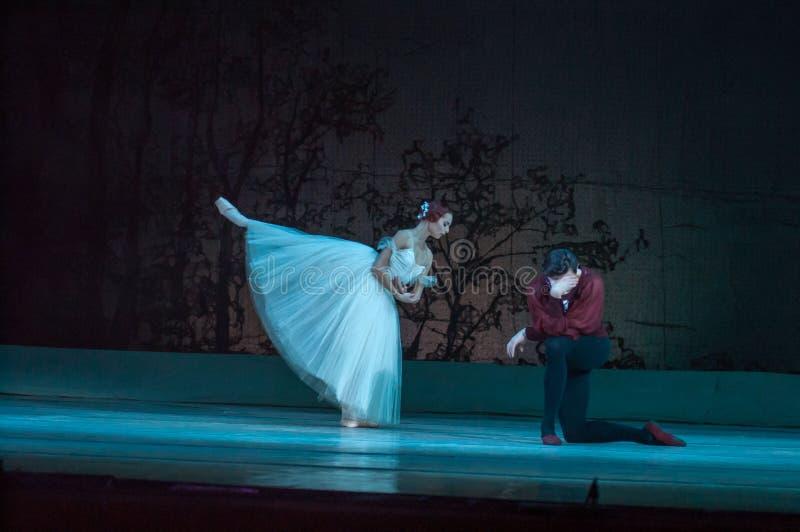 Klassiek ballet Giselle stock foto's