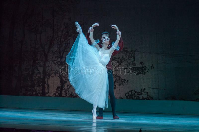 Klassiek ballet Giselle royalty-vrije stock foto