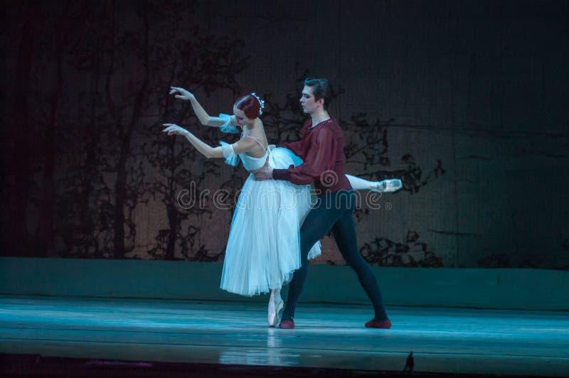 Klassiek ballet Giselle royalty-vrije stock foto's