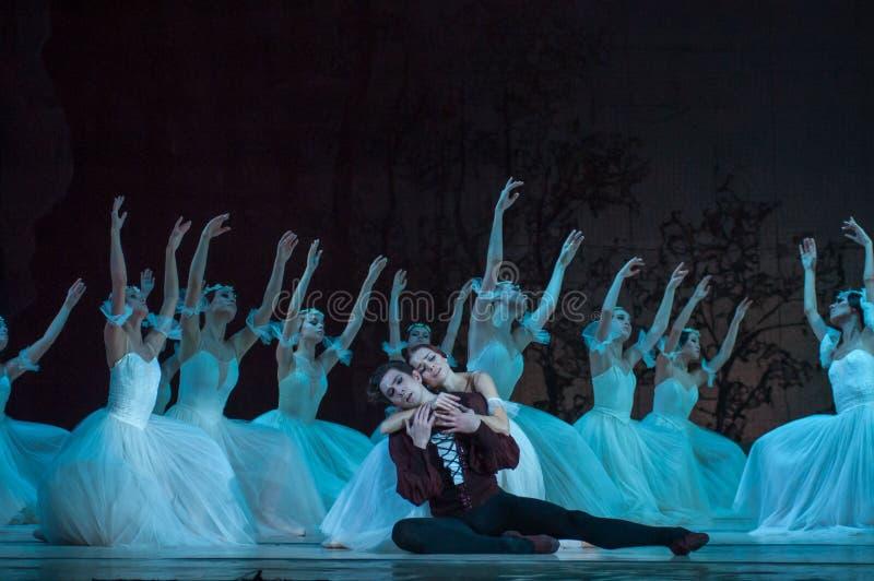 Klassiek ballet Giselle stock fotografie