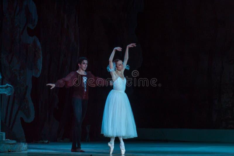 Klassiek ballet Giselle stock foto