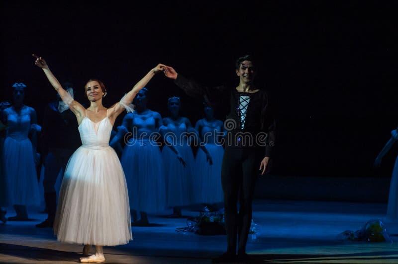 Klassiek ballet Giselle stock afbeeldingen
