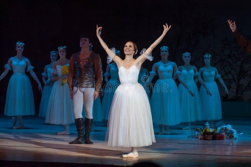 Klassiek ballet Giselle royalty-vrije stock afbeelding