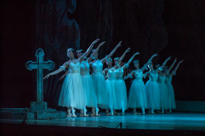 Klassiek ballet Giselle royalty-vrije stock afbeeldingen