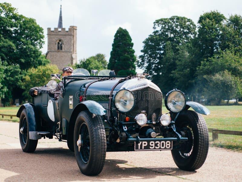 Klassiek Bentley stock foto's
