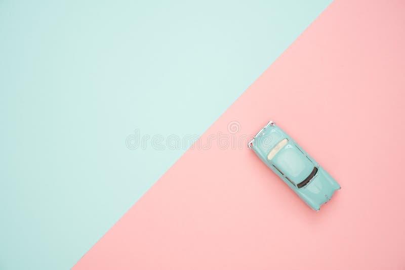 Klassiek blauw Coupe Stercast Model royalty-vrije stock afbeeldingen