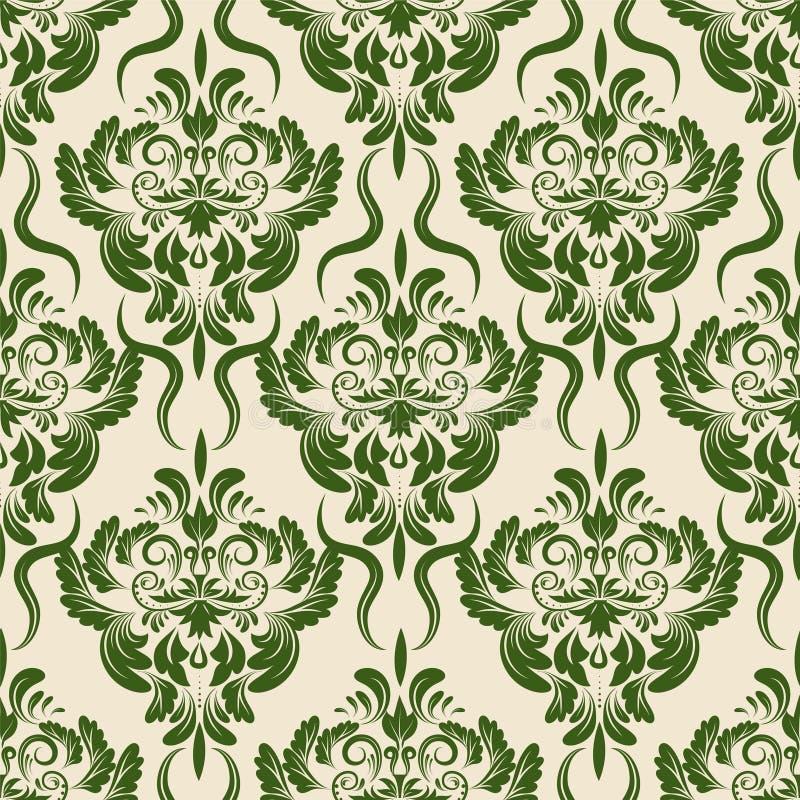 Klassiek bloemenpatroon vector illustratie