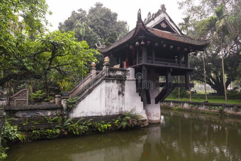 Klassiek Chinees de zomerhuis stock afbeeldingen