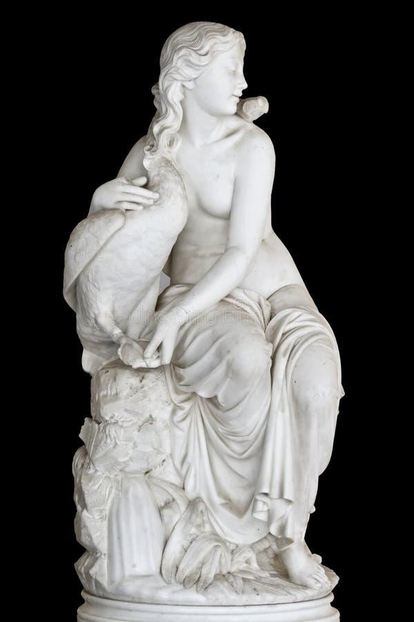 Klassiek erastandbeeld van Griekse oorsprong stock afbeelding