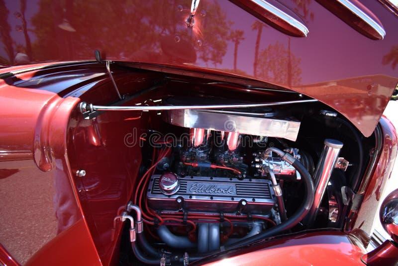 Klassiek Hete Coupé van Rodded Chevrolet, 2 stock foto's