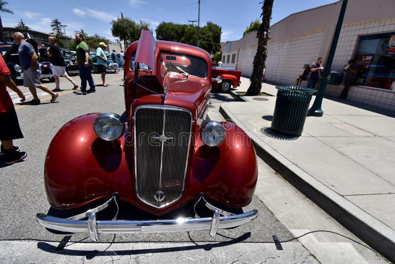 Klassiek Hete Coupé van Rodded Chevrolet, 1 royalty-vrije stock afbeelding