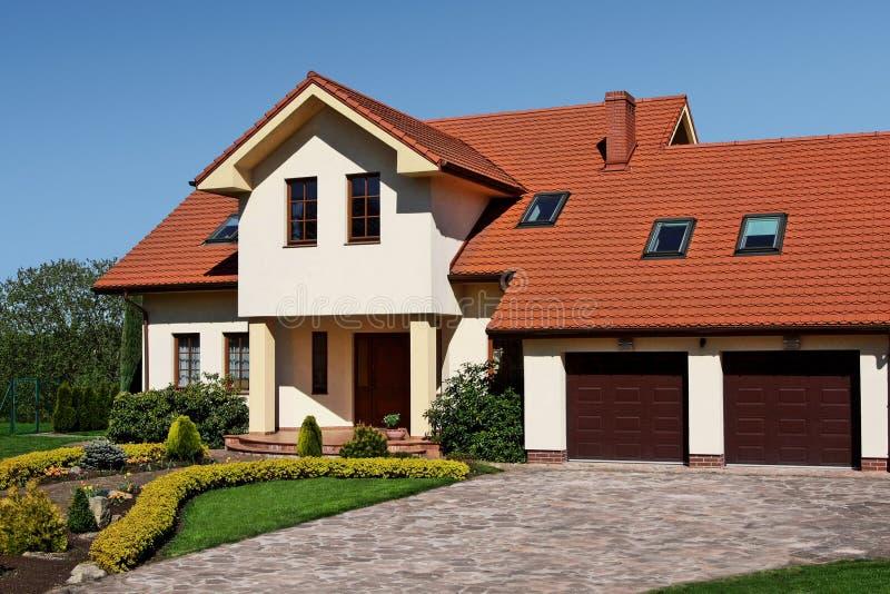 Klassiek huis stock foto