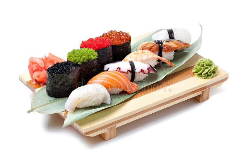 Klassiek Japans voedsel stock afbeeldingen