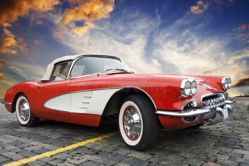 Klassiek Korvet Chevrolet stock foto's