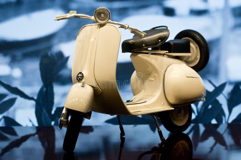 Klassiek Model Vespa royalty-vrije stock afbeelding