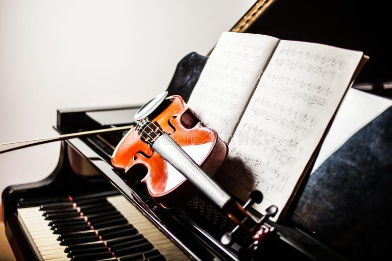 Klassiek muziekconcept royalty-vrije stock fotografie