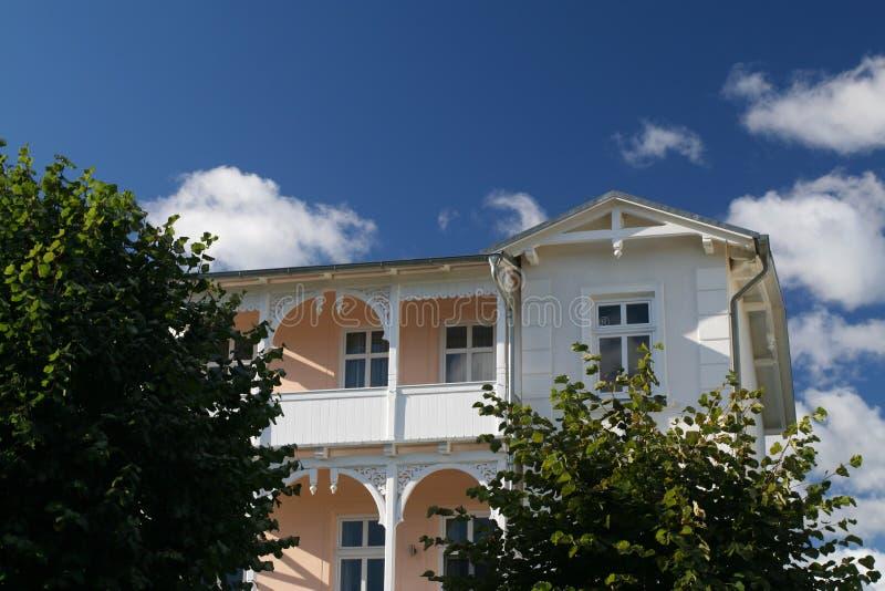 Klassiek Oostduits huis.   royalty-vrije stock foto