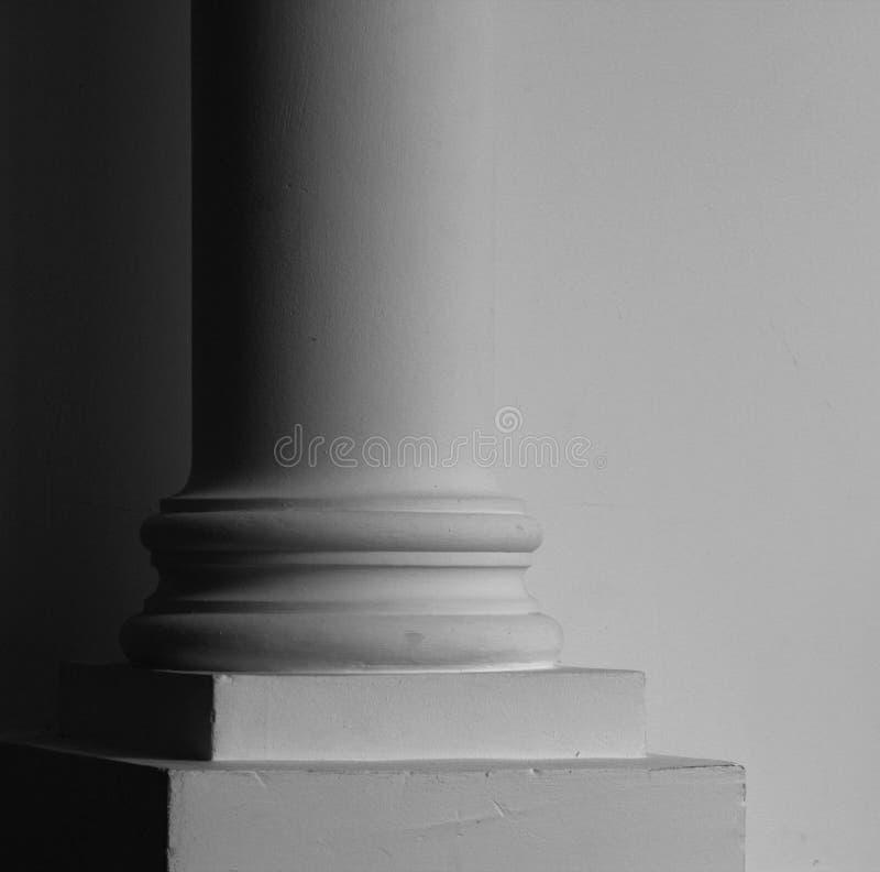 Klassiek pijlerdeel stock afbeelding
