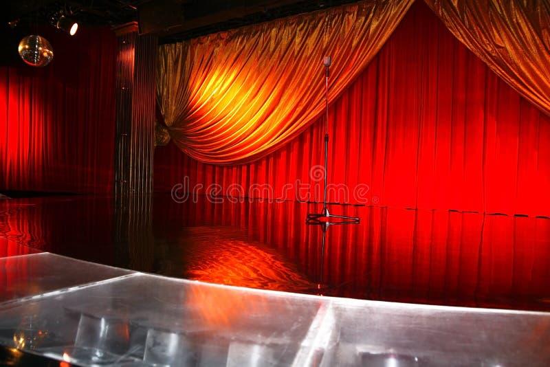 Klassiek retro elegant theater stock fotografie