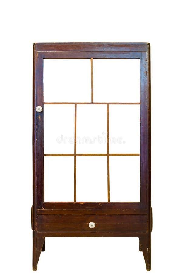 Klassiek uitstekend kabinet stock afbeelding