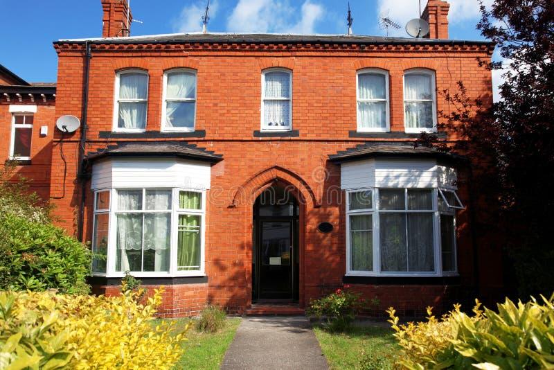 Klassiek Victoriaans huis stock foto's