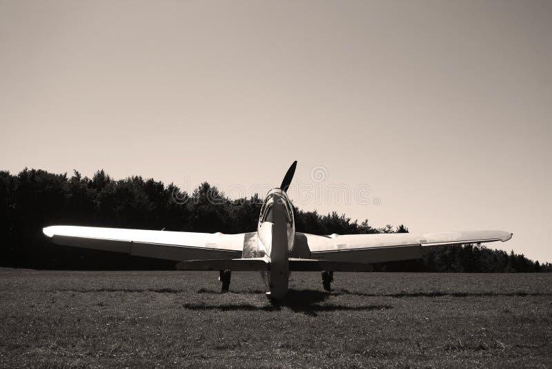Klassiek vliegtuig van WO.II stock afbeelding