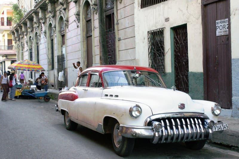Klassieke Amerikaanse Auto in Cuba stock fotografie
