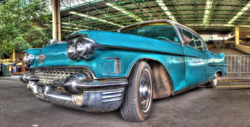 Klassieke Amerikaanse jaren '50 Cadillac royalty-vrije stock afbeeldingen