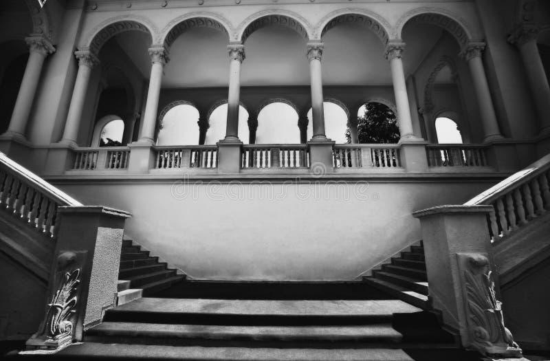 Klassieke architecturale structuur royalty-vrije stock foto's