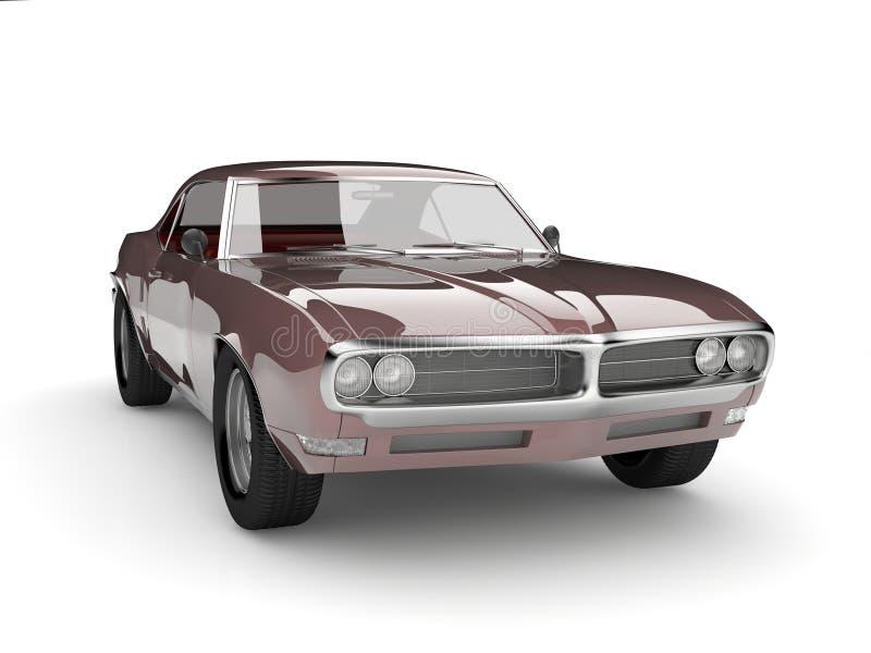 Klassieke auto vector illustratie