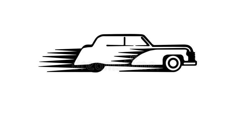 Klassieke autotekening stock fotografie