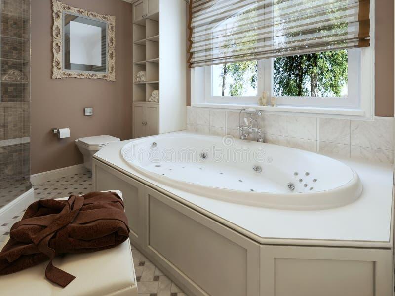 Klassieke badkamers stock afbeelding
