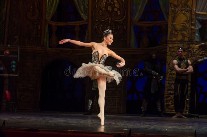 Klassieke balletzeerover stock afbeelding