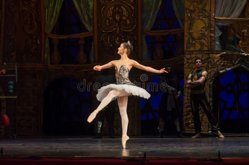 Klassieke balletzeerover royalty-vrije stock afbeeldingen
