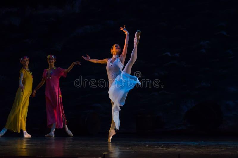 Klassieke balletzeerover royalty-vrije stock fotografie