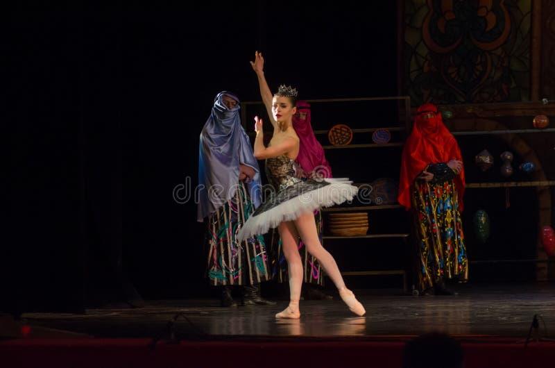 Klassieke balletzeerover royalty-vrije stock foto
