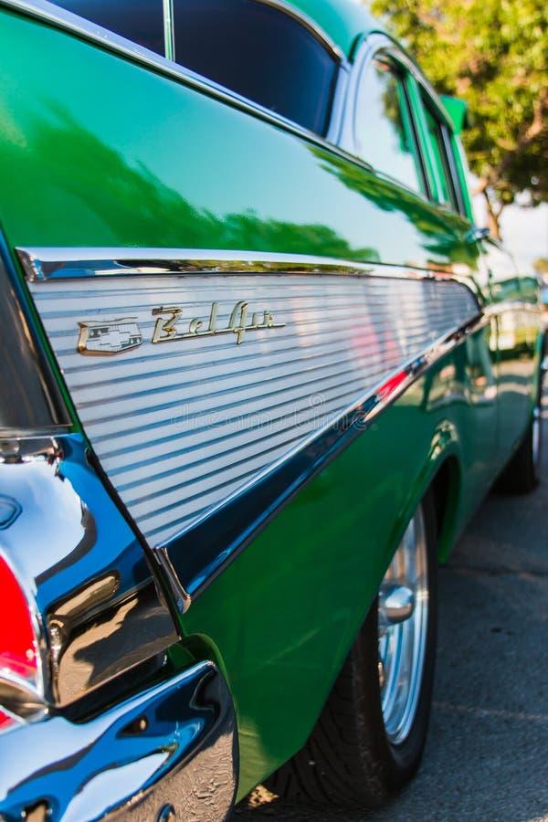 Klassieke Bel Air Car stock foto