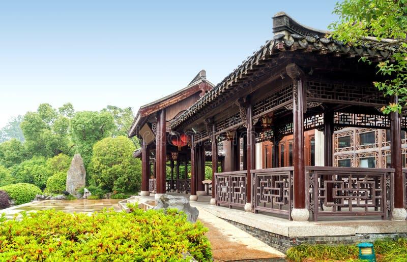 Klassieke binnenplaats, Yangzhou, China royalty-vrije stock foto's