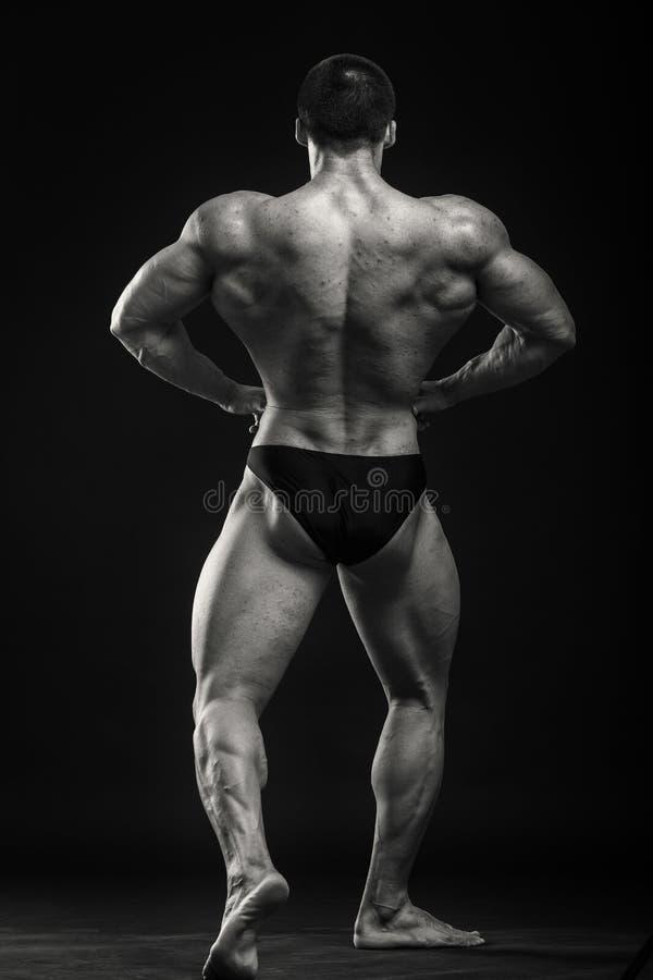 Klassieke bodybuilder royalty-vrije stock afbeeldingen
