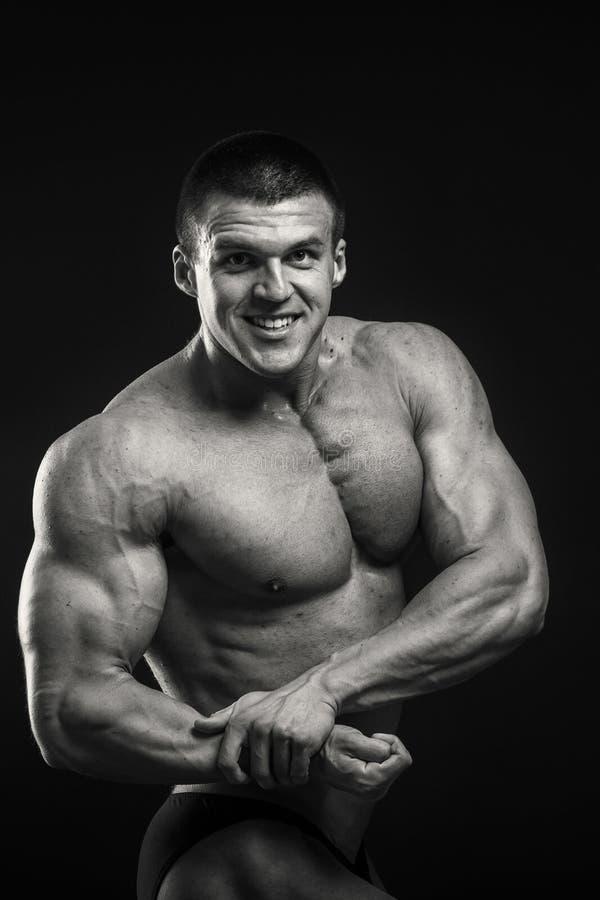 Klassieke bodybuilder royalty-vrije stock afbeelding