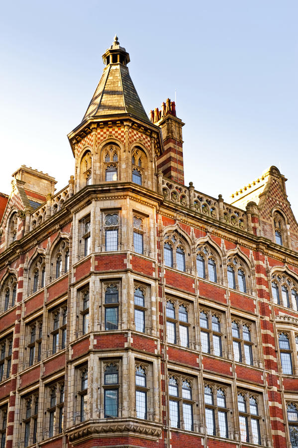 Klassieke Britse architectuur royalty-vrije stock afbeeldingen