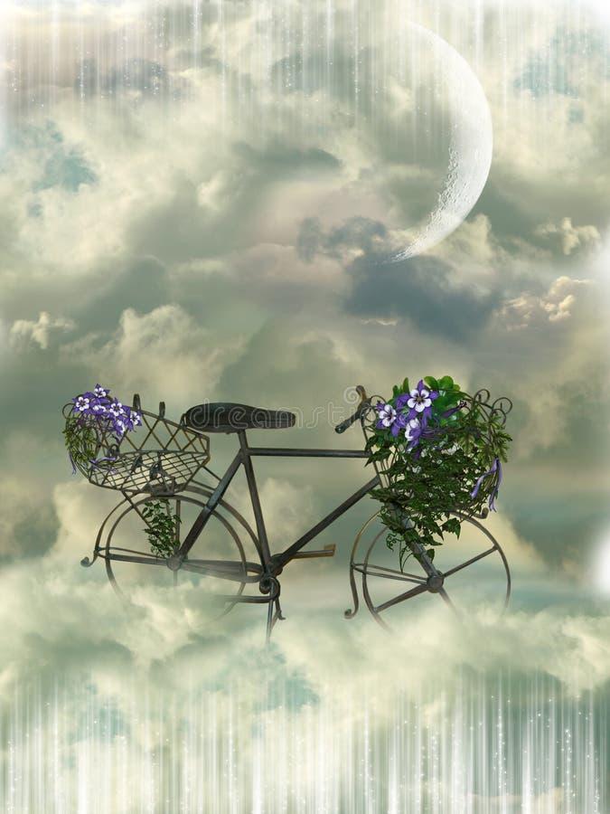 Klassieke bycicle stock foto's