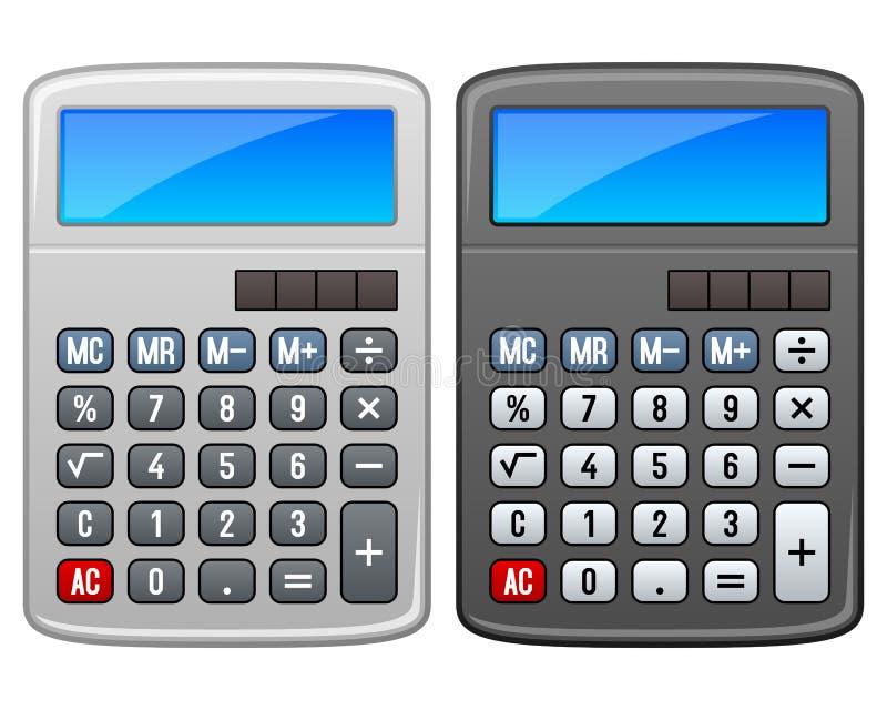 Klassieke Calculator royalty-vrije illustratie