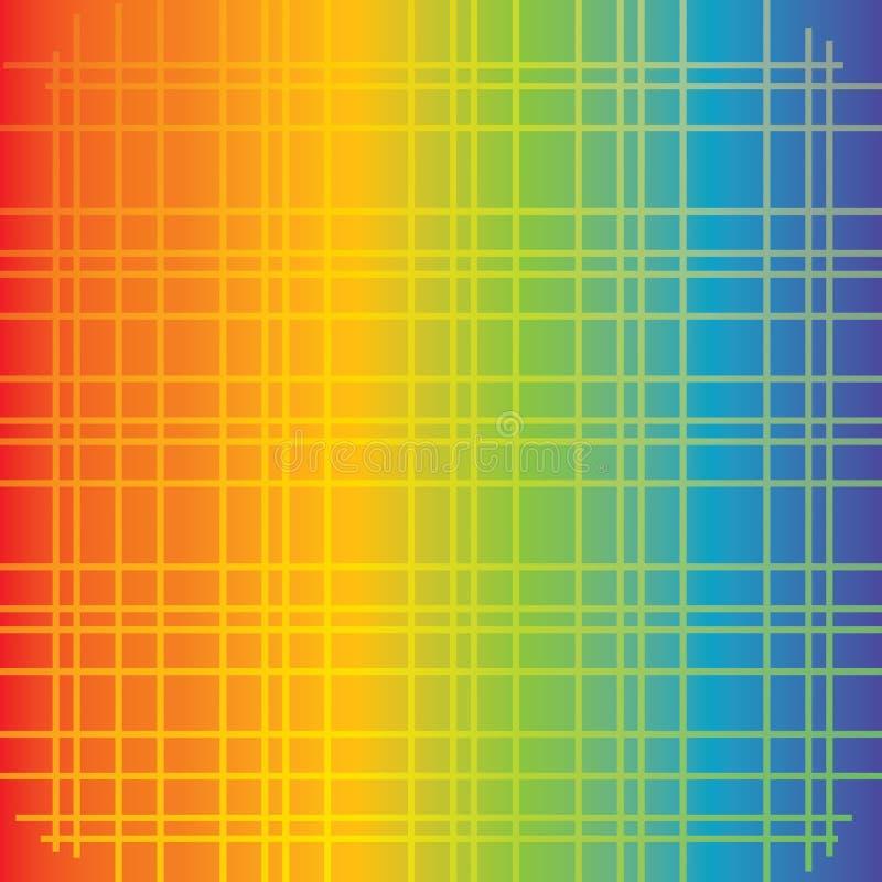 Klassieke eenvoudige gradiëntachtergrond royalty-vrije illustratie