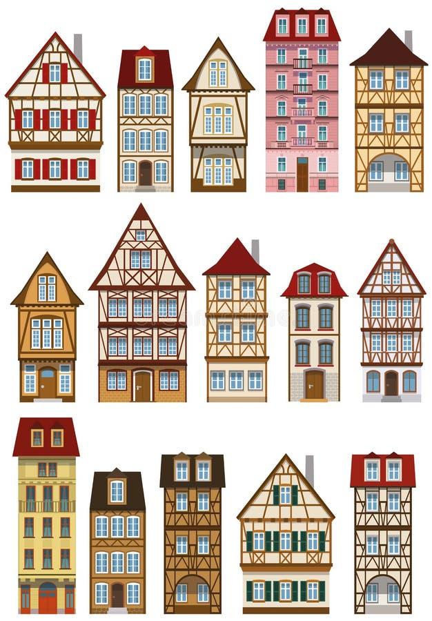 Klassieke Europese huizen