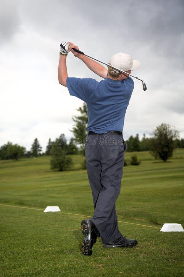 Klassieke Golfschommeling stock afbeelding